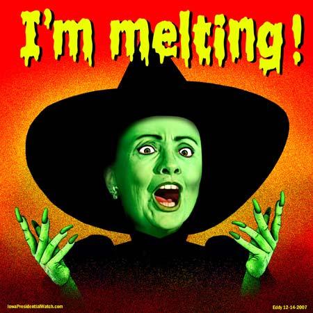 hillary-melting