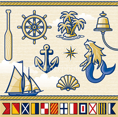 ist2_2993071-nautical-elements-flags-series