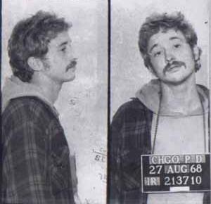 terrorist Bill Ayers mugshot