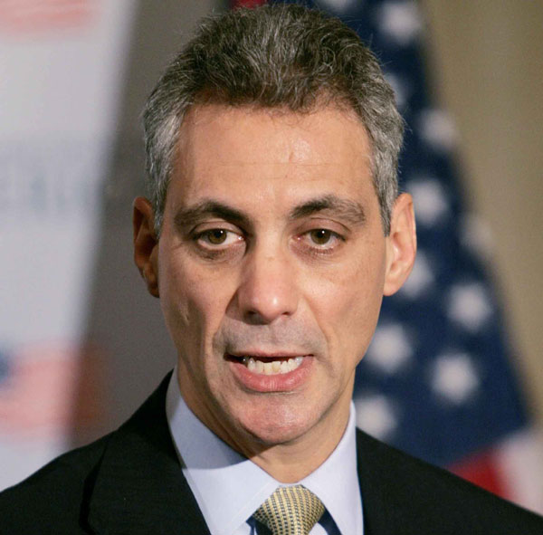 rahm emanuel pictures. It#39;s a Code Four,